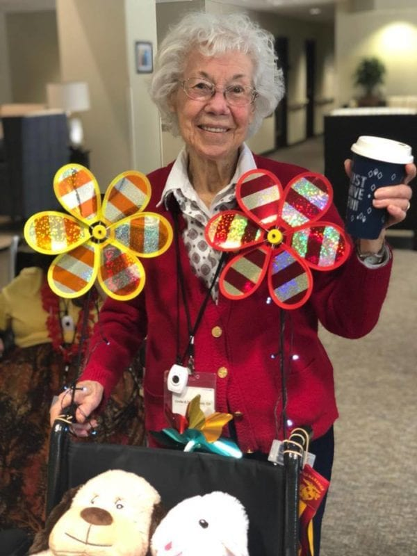 Mrs. Opal, 93-years-old