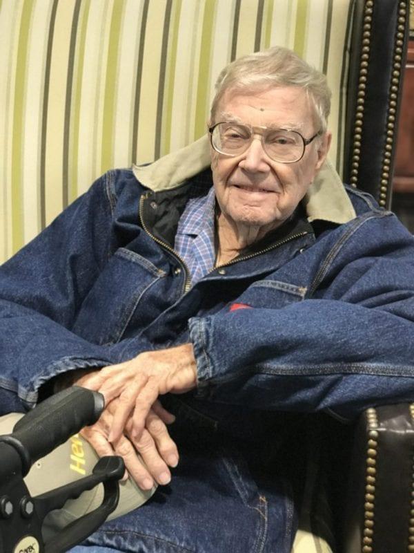 John, 92 years old