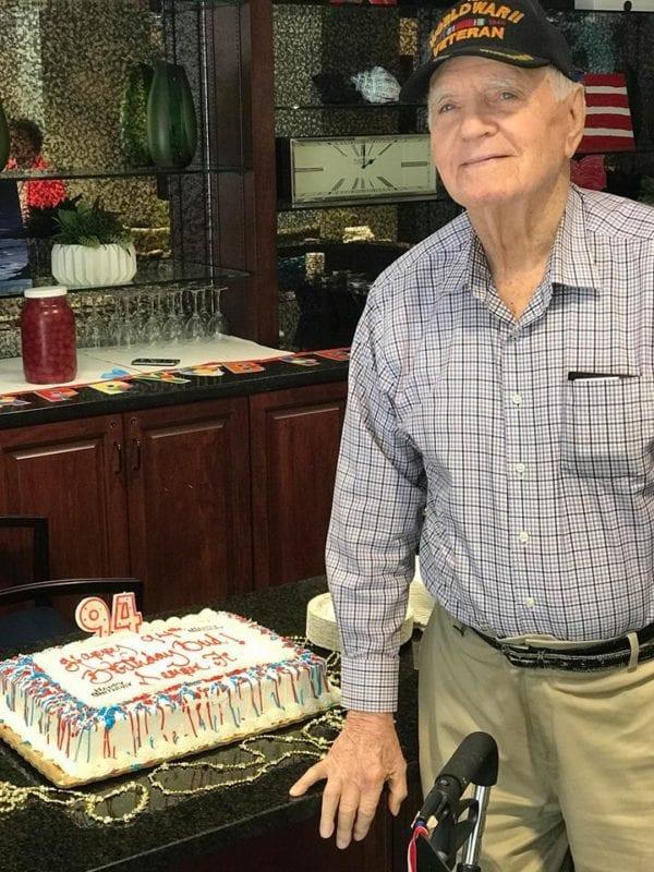 Mr. Bud, 94-years-old