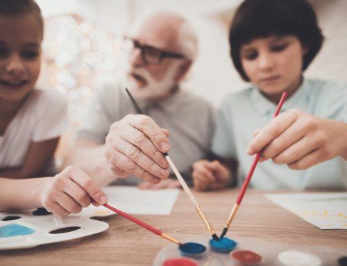 Grandparents with Alzheimer's: Tips for Visiting Children